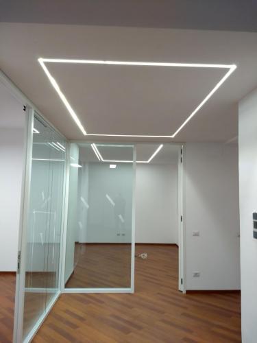 Strisce LED ingresso e direzione